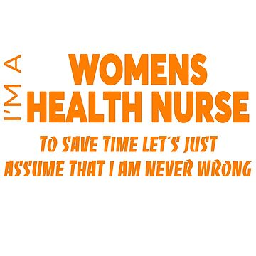 WOMENS HEALTH NURSE by audioenginee