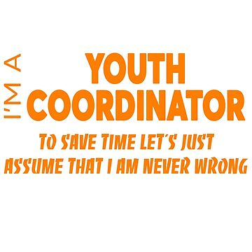 YOUTH COORDINATOR by audioenginee