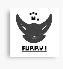 Furry! Canvas Print