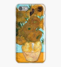 Sunflowers by Van Gogh iPhone Case/Skin