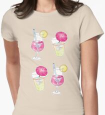 Cocktails! Women's Fitted T-Shirt