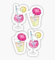 Cocktails ! Sticker