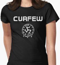 Curfew (Austin, Texas) Womens Fitted T-Shirt