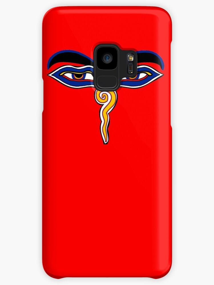 Buddha Eyes Symbol Cases Skins For Samsung Galaxy By Mindofpeace