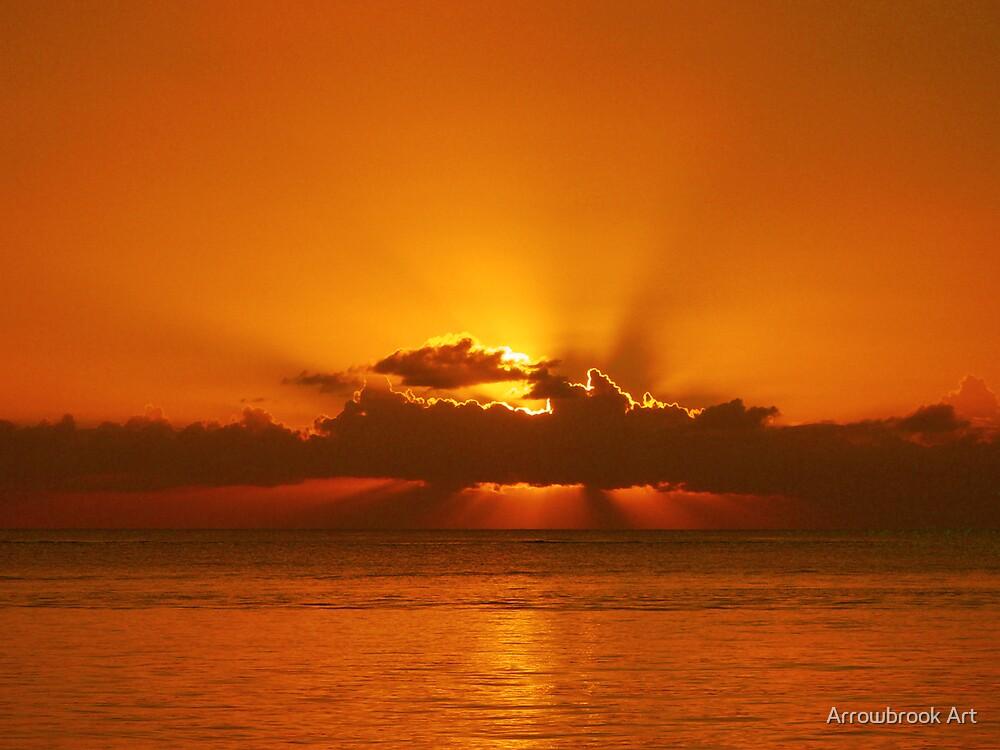 Sunset Trou Aux Biches by John Brotheridge