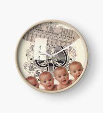 """Original Collage Art - """"Priceless"""" Clock"""