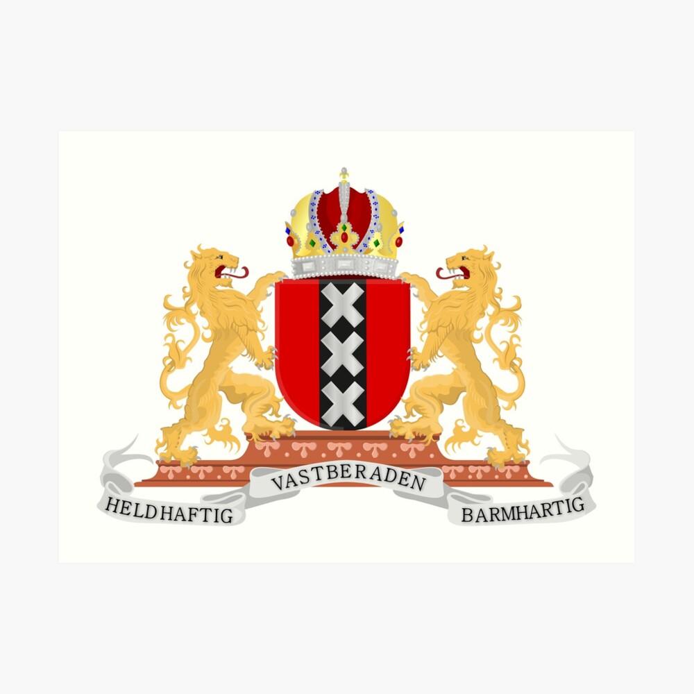 Amsterdam coat of arms Art Print