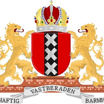Amsterdam coat of arms by Tonbbo