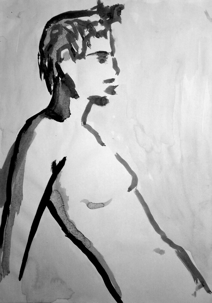 Ink Nude 6 by Mathew Reed