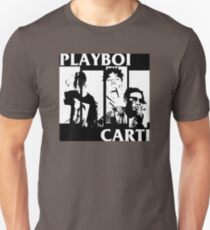 Playboi Carti Black Flag Logo Hiphop Punk T-Shirt