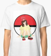 Alola Pokemon Sun And Moon Girl Classic T-Shirt