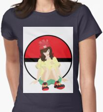 Alola Pokemon Sun And Moon Girl Womens Fitted T-Shirt
