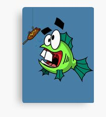Dork Fish Canvas Print