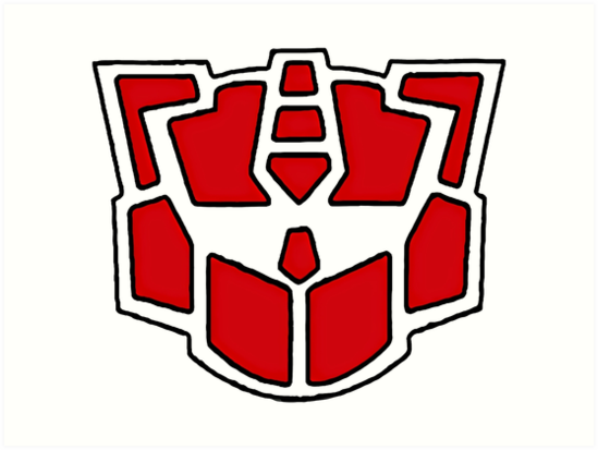 Autobot Symbol G2 Art Prints By Saltycrabcakes Redbubble