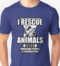 I Rescue Animals Shirt T-Shirt