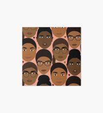 the diversity of sisterhood Art Board
