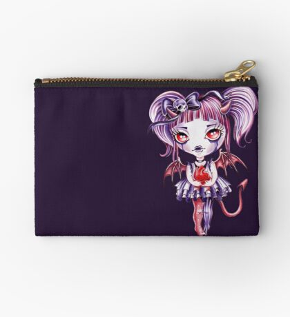 Broken Hearted Celestine Zipper Pouch