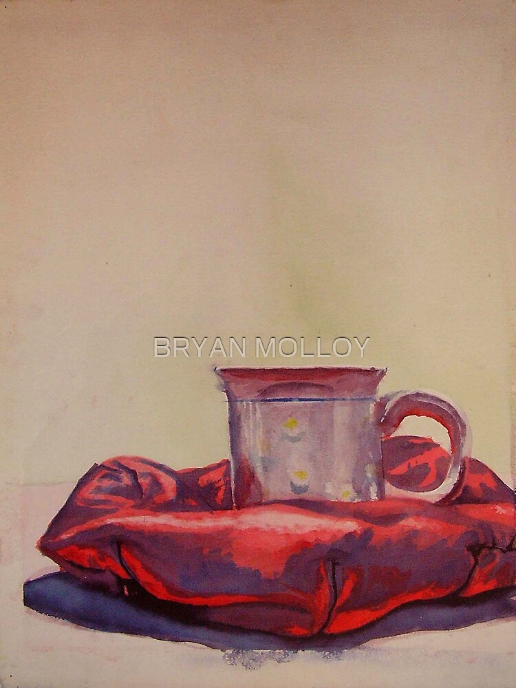 """'BERET AND TEACUP"""" by BRYAN MOLLOY"""