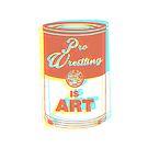 Pro Wrestling is Art (3D) by wrasslebox