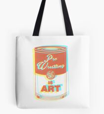 Pro Wrestling is Art (3D) Tote Bag