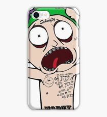 Morty as The Joker in Rickicide Squad iPhone Case/Skin