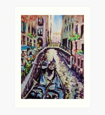 GONDOLAS Art Print
