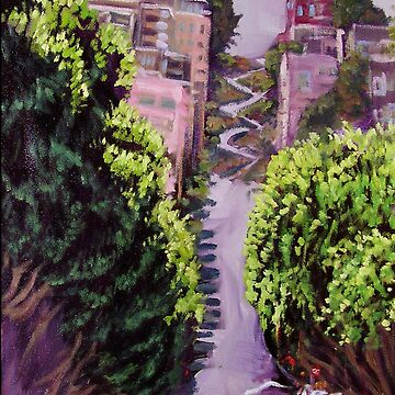 """LOMBARD ST., SAN FRAN."" by molloy3"