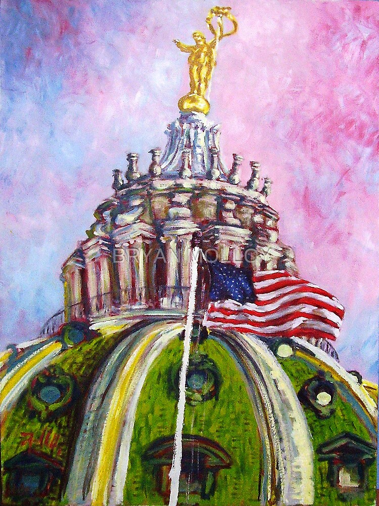 PA STATE CAPITOL DOME by BRYAN MOLLOY