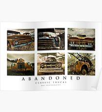 Abandoned Series - Classic Trucks Poster
