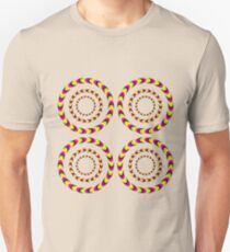 Optical Illusion 3D Moving Art Design Unisex T-Shirt