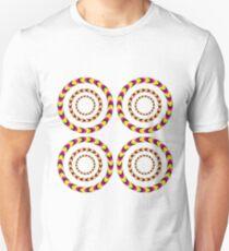 Optical Illusion 3D Moving Art Design T-Shirt