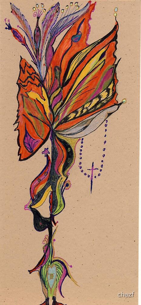 Flower Bird by chazf