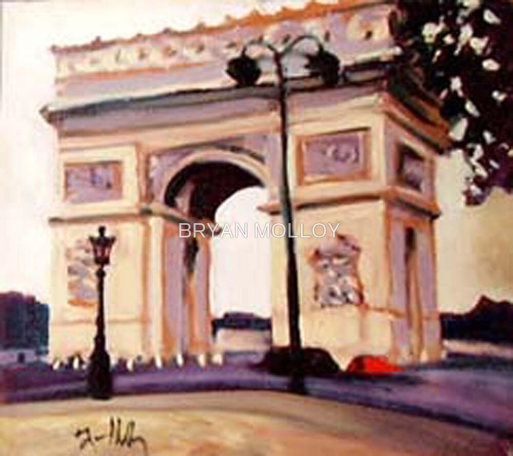 ARCH DE TRIUMPH by BRYAN MOLLOY