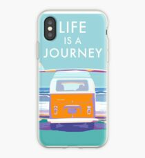 Van on the Beach Travel Decal iPhone Case