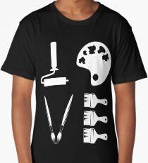 Love Art Tools Shirt Long T-Shirt