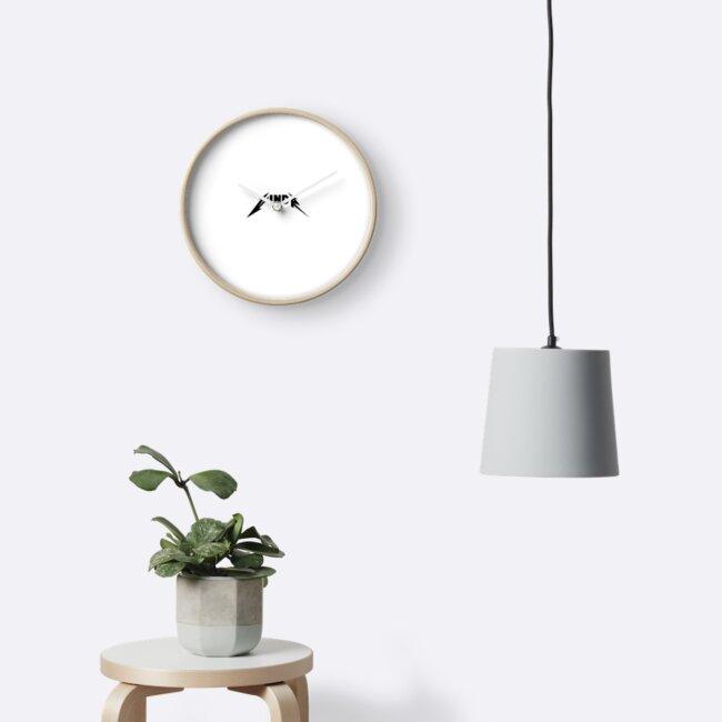 Vindr Logo Metallica Font Clocks By Vindrland Redbubble