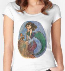 '40s Mermaid Women's Fitted Scoop T-Shirt