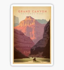 Grand Canyon National Park Vintage Travel Decal Sticker