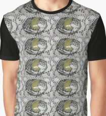Glass and wire mesh brooch Graphic T-Shirt