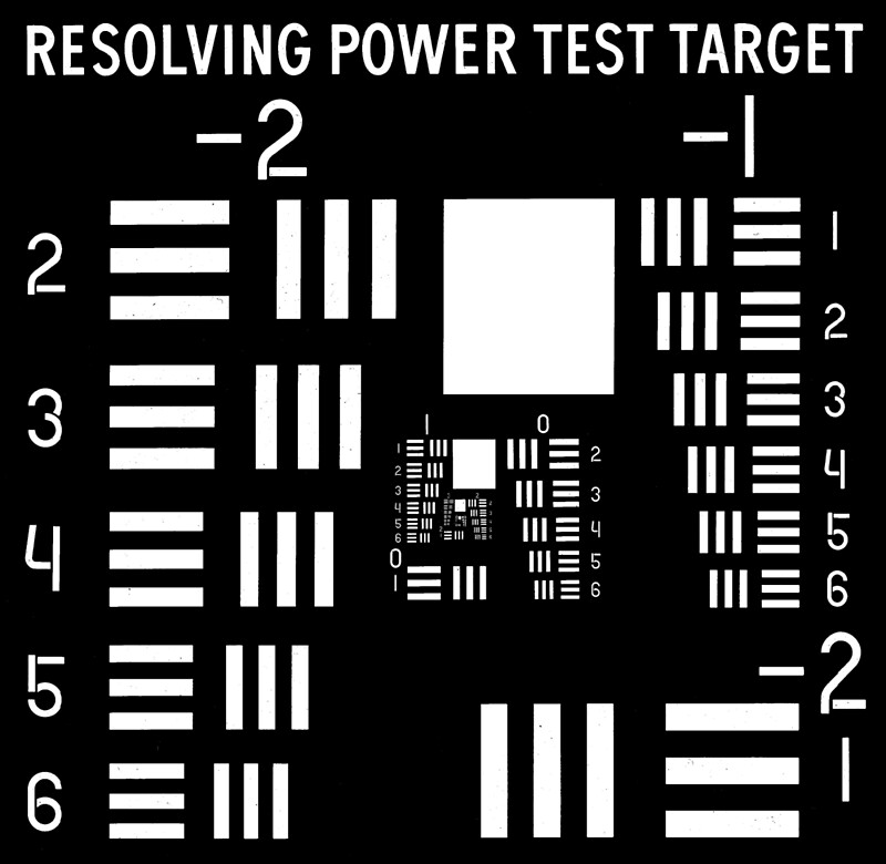 Quot Usaf 1951 Resolving Power Test Target Quot By Science Park