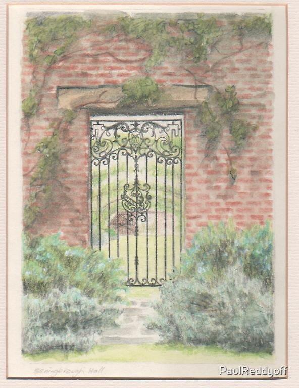 Garden Gate, Benningborough Hall. by PaulReddyoff