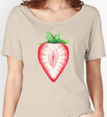 Juicy Strawberry Women's Relaxed Fit T-Shirt