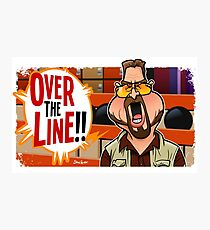 Over the Line Photographic Print