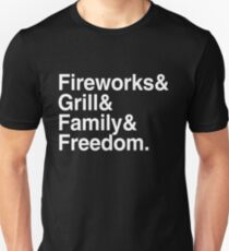 fourth of july tradition 4 independence day USA Unisex T-Shirt