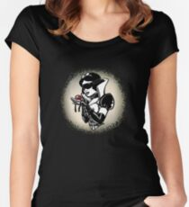 Kinky Snow  Women's Fitted Scoop T-Shirt