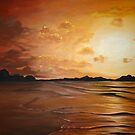Red Sunset  by Cherie Roe Dirksen