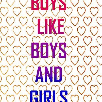 BOYS BOYS GIRLS by demonhatter