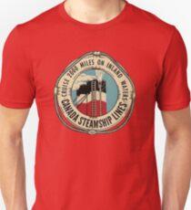 Vintage Canadian Steamship Lines Cruise 200 Miles 00427 Unisex T-Shirt