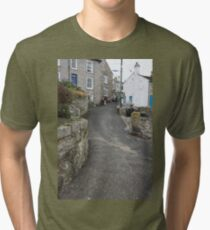 Mousehole Streets Tri-blend T-Shirt