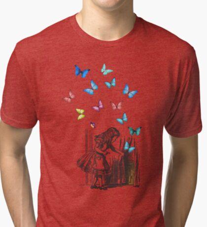 Alicia en el país de las maravillas - que comience la aventura Camiseta de tejido mixto